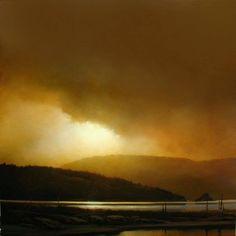 """""""Light Veil"""" (2009) By Renato Muccillo Fine Arts Studio, Canadian Contemporary Artist oil on canvas; 36 x 36 in - https://www.facebook.com/pages/Renato-Muccillo-Fine-Arts-Studio/104517059583818 http://renatomuccillo.com/home.html"""