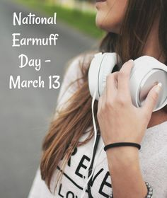 National Earmuff Day - March 13 - Keep Warm with Earmuffs Smart Quotes, Me Quotes, Fractional Laser Treatment, National Days, Medical Spa, Teenager Quotes, Spa Services, Earmuffs, My Mood