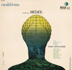 Decca Records album cover - Erik Nitsche