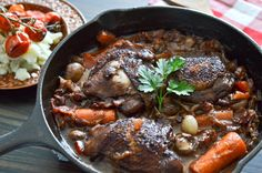 Julia Child's Coq au Vin   The Endless Meal #superbowl #gameday #recipe