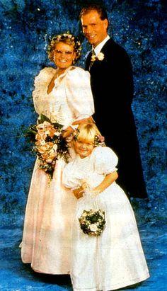 Cathrine Ferner, daughter of Princess Astrid of Norway and Arild Johansen, 1989.