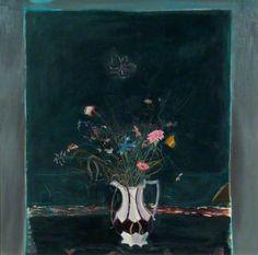 Vase of Flowers - Elizabeth V. Blackadder paintings