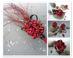 Beautiful flax flowers - another person to look for is 'A Flax Bouquet' on Facebook - shes amazing!