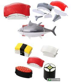 Sushi Transformers.