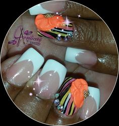 #neon#nails