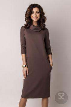 Платье свободного кроя от дизайнера в интернет-магазине. | Skazkina