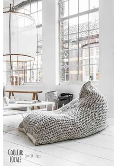 A bean bag chair is truly perfect chair design for you who need to have the most comfortable furniture in your home. This chair is kind of sealed bag and it contains dried beans. It is designed by Ces Living Room On A Budget, Living Room Seating, Living Room Chairs, Living Room Furniture, Living Spaces, Living Rooms, Family Furniture, Lounge Chairs, Small Living