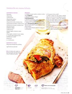 Revista bimby 2011.05 n06 Ratatouille, Betty Crocker, What's Cooking, What To Cook, French Toast, Barbie, Pasta, Sweets, Diet