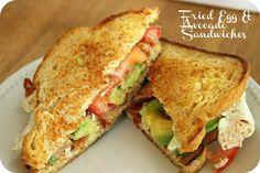 Fried Egg and Avocado Sandwiches Recipe on Yummly. @yummly #recipe
