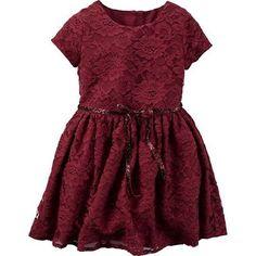 Carter's Toddler Girl Lace ...