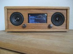 A really nice-looking Raspberry Pi-based Internet radio.