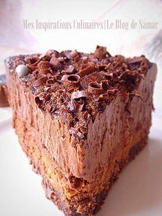 Comme certains le savent déjà, Hier s'était la repr. Köstliche Desserts, Chocolate Desserts, Delicious Desserts, Sweet Recipes, Cake Recipes, Dessert Recipes, Barbie Cake, Chocolate Delight, Fancy Cakes