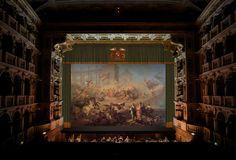 https://flic.kr/p/AG6YVy   Teatro Comunale di Bologna   Simulazione con il sipario dipinto da Napoleone Angiolini (1853-54) andato distrutto nell'incendio del 1931. --- Simulation of the curtain painted by Napoleone Angiolini (1853-54) was destroyed in the fire of 1931.
