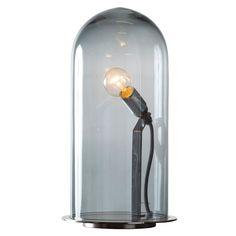 Speak Up! bordlampe fra Ebb & Flow. En svært vakker glasslampe som minner om en gammeldags ...