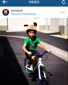 YouTube link~ http://youtu.be/OJYRFC2N590 #Friday #FBF #TGIF #trickster #helmet #fun #antics #kids #bike #fixie #bmx #mtb #family #bikesafety #supportlocalbikeshops #pillowpet #pillowpets #familyfun #find #holiday #kid #giftidea #new #ca #usa #socal #pch #oc #demo #silly #ears #pressplay #summer #sound Tricksters are character inspired bicycle helmets that are flashy and fun! More importantly, Tricksters helmets provide safety first and style second!  --CPSC certified: complies with CPSC and…