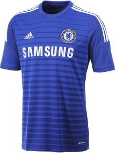 Chelsea Home, Away and Third Kits Released. The new Chelsea Home Kit features a color gradient, while the Chelsea Away Shirt is yellow. The Chelsea Third Kit features a spectacular Soundwave graphic on the front. Club Chelsea, Chelsea Fans, Chelsea Football, Adidas Football, Football Shirts, Chelsea Clothing, Chelsea Shirt, Soccer Uniforms, Soccer