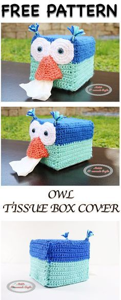 Crocheted dog tissue box cover | C r o c h e t | Pinterest | Tissue ...