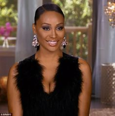 Sunglasses line: Cynthia Bailey was hoping to get Kenya and Kim Fields to work together on...