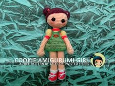COOKIE AMIGURUMI GIRL FREE PATTERN