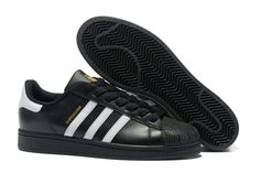 official photos 5ca17 15869 Collection Homme Adidas Superstar Casual chaussures de course C Noir blanc