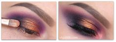 How to Apply Loose Eyeshadows