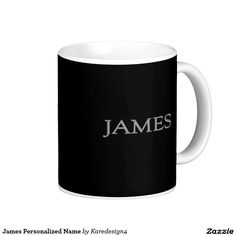 James Personalized Name Coffee Mug
