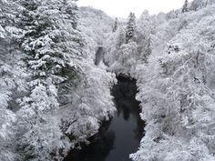 No it's not a scene from Narnia, it's the Pass of Killiecrankie during winter in Scotland #NTSwinter