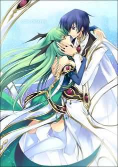 Code Geass. Lelouch and CC