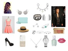"""""""Date w/ Harry Styles"""" by paradise-queen on Polyvore featuring Casetify, Kate Spade, Charlotte Olympia, Karl Lagerfeld, Amanda Rose Collection, Disney, Bling Jewelry, Tommy Hilfiger, Tiffany & Co. and Dinh Van"""