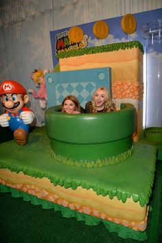 Peyton List and Stefanie Scott Photos - Super Mario 3D World Happy Holi-Games Spectacular - Zimbio