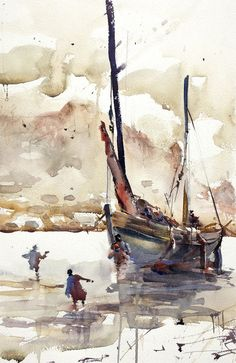 sailboat watercolor painting charles reid - Google Search