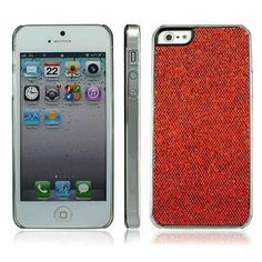 iPhone 5s Case with Shiny Bling Glitter Luxury Rhinestone and Hard Chrome Plastic for Apple iPhone 5 and iPhone 5s (Red) IPHONECASES.ME http://www.amazon.com/dp/B00G9BSWAO/ref=cm_sw_r_pi_dp_AQXwub09JK8KR