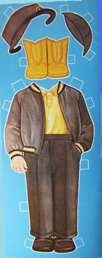 SCHOOL BOY DOLL by Queen Holden from Bonnie Jones