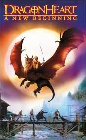 Dragon Heart - a new beginning - VHS Universal Home Entertainment Home Video Christopher Masterson, Memories Of Murder, Dragon Movies, Dragon Names, Den Of Geek, Dragon Heart, Gulliver's Travels, Knight In Shining Armor, Nicolas Cage