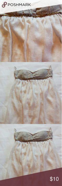 Charlotte Russe dress Ivory strapless Charlotte Russe mini dress worn only a few times Charlotte Russe Dresses Mini