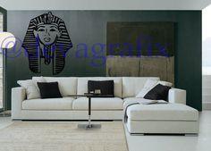 Beautiful Stylish Last Kings Egyptian Mask Wall Stickers Decal Wallart Tyga King | eBay