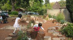 Spiral Garden, Palo Alto CA, Curtis Tom, 2006 - Playscapes