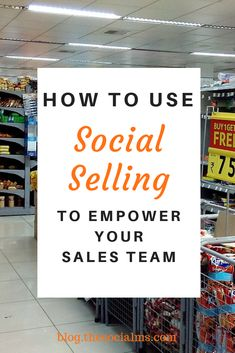 we've extensively explored the impact social selling can have on the market. Sales reps using social selling methods are more likely to obtain quota.