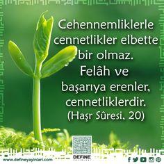 Haftanın ayeti... #defineyayinlari #define #dua #pray #reca #ayet #sure #book #kuran #ayet #sure #Quran #haftaninayeti #cennet #cehennem #kul  #haşrsuresi #kuranayetleri