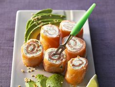 Repas de fête : nos recettes au saumon - La recette des bouchées de saumon aux herbes - Femme Actuelle