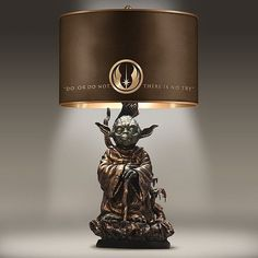STAR WARS Yoda Bronze - Colored Resin Lamp