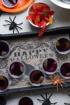 Easy Halloween Jello Shots Ideas — Recipes for Halloween Jelly Shot Ideas Easy Halloween Jello Shots Ideas — Recipes for Halloween Jelly Shot Ideas,Halloween Party halloween jello shots squirm Related posts:Food Archives. Halloween Desserts, Halloween Jelly, Halloween Jello Shots, Halloween Party Treats, Easy Halloween, Halloween Stuff, Hallowen Party, Halloween Season, Halloween 2020