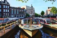 One of the most popular things to do in Amsterdam is enjoying a canal cruise. If you want to know more about the different canal cruises in Amsterdam go visit: https://www.meetthecities.com/guide/amsterdam/amsterdam-activities-canal/