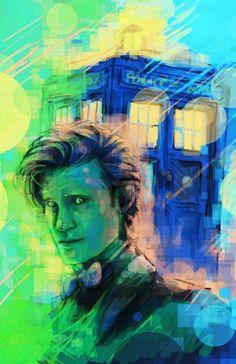 11th Doctor by Sempaiko.deviantart.com on @deviantART