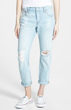 Levi's® Levi's '501® CT' Boyfriend Jeans (Old Favorite) available at #Nordstrom