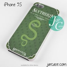 hogwarts slytherin Phone case for iPhone 4/4s/5/5c/5s/6/6 plus