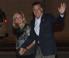 Governor Mitt and Ann Romney arrive in Tel Aviv, Israel, Saturday. Going where no President has gone for the past three and a half years.