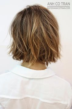 Messy, Textured Bob