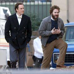 The League of British Artists, with Karen V. Wasylowski: Seth Rogen films scenes with Michael Fassbender on...