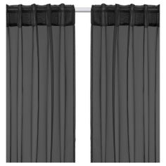 SARITA Sheer curtains, 1 pair, black $8.99 The price reflects selected options Article Number:901.454.28 The sheer curtains let the dayligh...